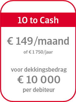 Prijsformule 10 to cash