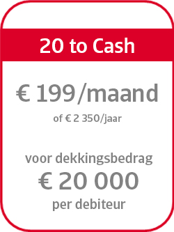 Prijsformule 20 to Cash