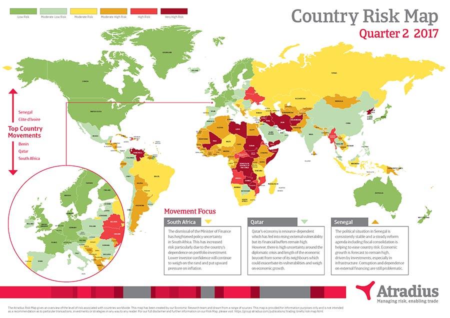 Risk map Q2 2017